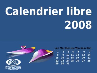 Calendrier libre 2008